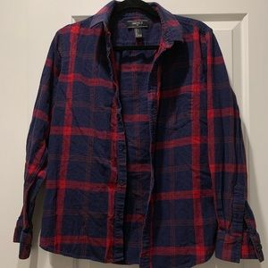 "Men's ""Forever 21"" button up flannel"